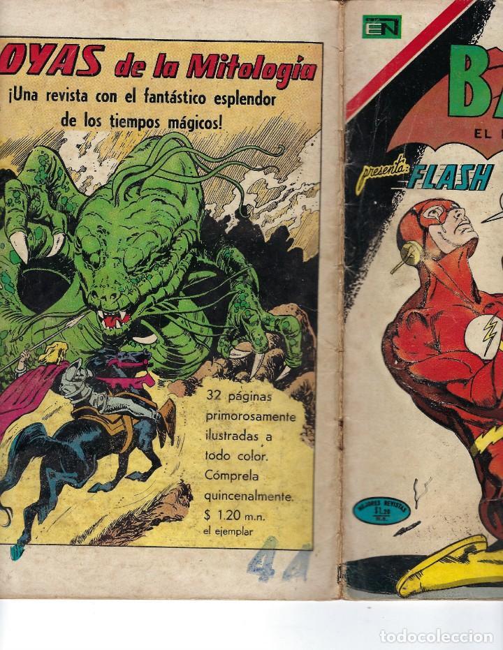 Tebeos: BATMAN - EL HOMBRE MURCIÉLAGO, AÑO XIX, Nº 599, 14 DE OCTUBRE DE 1971 ***EDITORIAL NOVARO*** - Foto 3 - 169545448