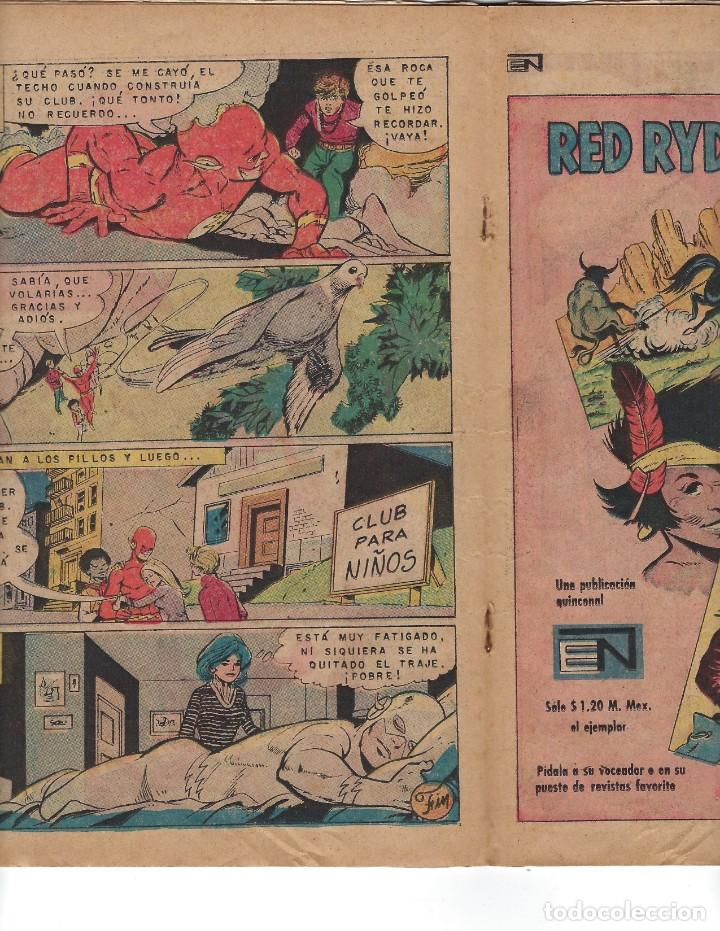 Tebeos: BATMAN - EL HOMBRE MURCIÉLAGO, AÑO XIX, Nº 599, 14 DE OCTUBRE DE 1971 ***EDITORIAL NOVARO*** - Foto 4 - 169545448