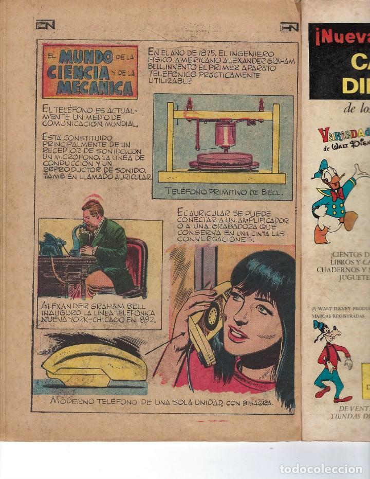 Tebeos: BATMAN - EL HOMBRE MURCIÉLAGO, AÑO XIX, Nº 599, 14 DE OCTUBRE DE 1971 ***EDITORIAL NOVARO*** - Foto 6 - 169545448