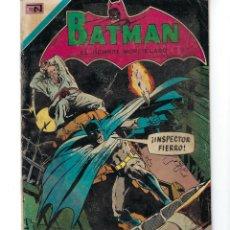 Tebeos: BATMAN - EL HOMBRE MURCIÉLAGO, AÑO XIX, Nº 585, 27 DE MAYO DE 1971 ***EDITORIAL NOVARO***. Lote 169547196