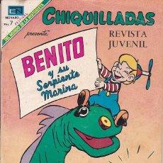 Tebeos: COMIC COLECCION CHIQUILLADAS Nº 254. Lote 169549856