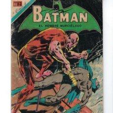 Tebeos: BATMAN - EL HOMBRE MURCIÉLAGO, AÑO XVIII, Nº 567, 21 DE ENERO DE 1971 ***EDITORIAL NOVARO***. Lote 169550432