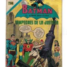 Tebeos: BATMAN - EL HOMBRE MURCIÉLAGO, AÑO XVIII, Nº 563, 24 DE DICIEMBRE DE 1970***EDITORIAL NOVARO***. Lote 169551676