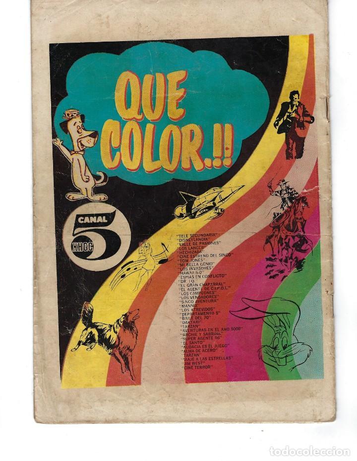 Tebeos: BATMAN - EL HOMBRE MURCIÉLAGO, AÑO XVIII, Nº 563, 24 DE DICIEMBRE DE 1970***EDITORIAL NOVARO*** - Foto 2 - 169551676