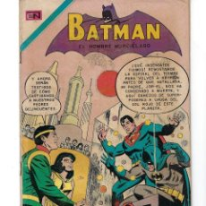 Tebeos: BATMAN - EL HOMBRE MURCIÉLAGO, AÑO XVIII, Nº 556, 5 DE NOVIEMBRE DE 1970***EDITORIAL NOVARO***. Lote 169553596