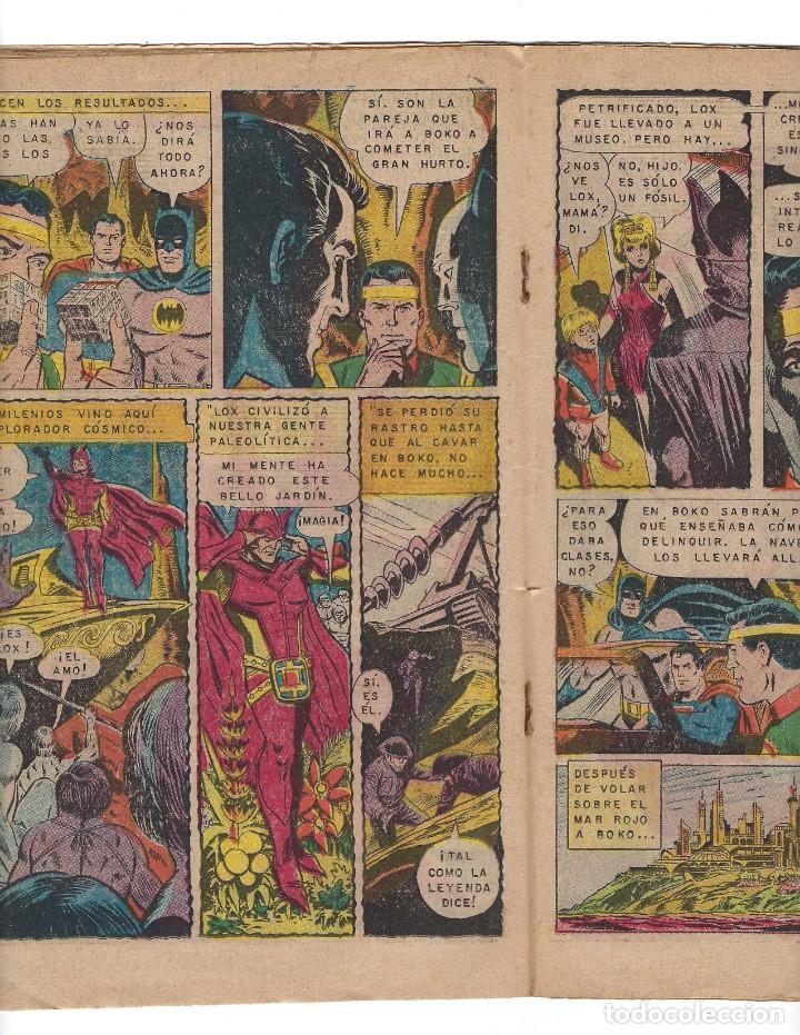 Tebeos: BATMAN - EL HOMBRE MURCIÉLAGO, AÑO XVIII, Nº 556, 5 DE NOVIEMBRE DE 1970***EDITORIAL NOVARO*** - Foto 4 - 169553596