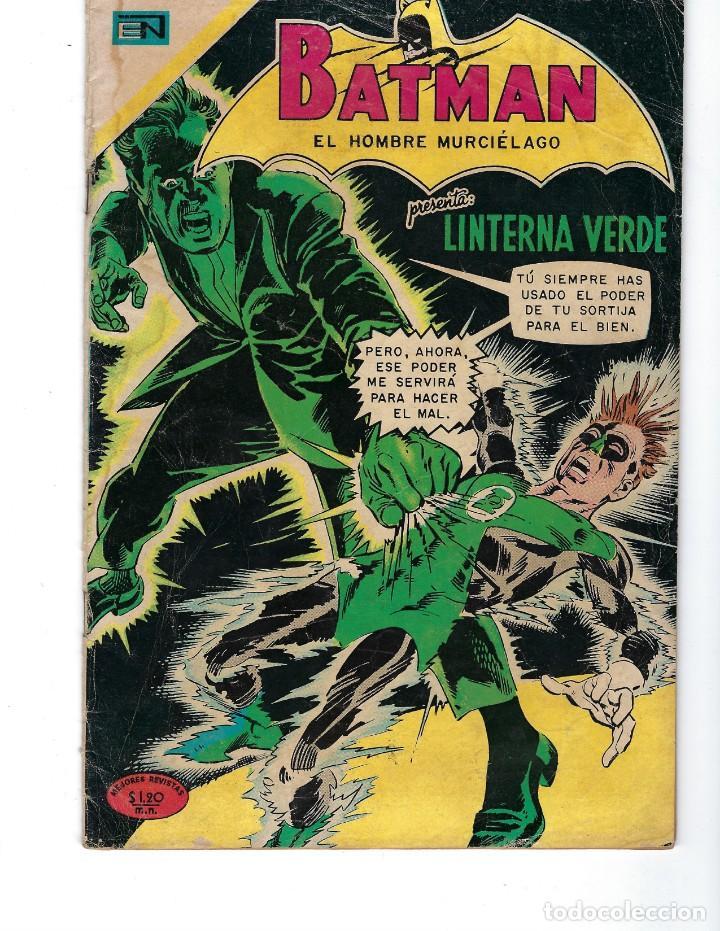 BATMAN - EL HOMBRE MURCIÉLAGO, AÑO XVIII, Nº 547, 3 DE SEPTIEMBRE DE 1970***EDITORIAL NOVARO*** (Tebeos y Comics - Novaro - Batman)