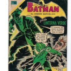 Tebeos: BATMAN - EL HOMBRE MURCIÉLAGO, AÑO XVIII, Nº 547, 3 DE SEPTIEMBRE DE 1970***EDITORIAL NOVARO***. Lote 169556296