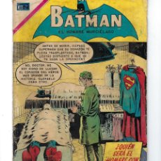 Tebeos: BATMAN - EL HOMBRE MURCIÉLAGO, AÑO XVIII, Nº 543, 6 DE AGOSTO DE 1970***EDITORIAL NOVARO***. Lote 169557512
