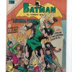 Tebeos: BATMAN - EL HOMBRE MURCIÉLAGO, AÑO XVIII, Nº 535, 11 DE JUNIO DE 1970***EDITORIAL NOVARO***. Lote 169559052