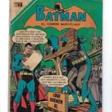 Tebeos: BATMAN - EL HOMBRE MURCIÉLAGO, AÑO XVIII, Nº 531, 14 DE MAYO DE 1970***EDITORIAL NOVARO***. Lote 169560340