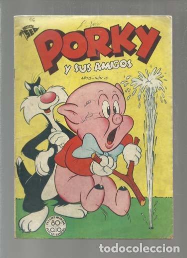 PORKY 16, 1953, SEA, BUEN ESTADO. COLECCIÓN A.T. (Tebeos y Comics - Novaro - Porky)