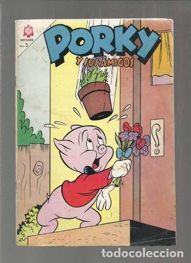 PORKY Y SUS AMIGOS 161, 1965, NOVARO. COLECCIÓN A.T. (Tebeos y Comics - Novaro - Porky)