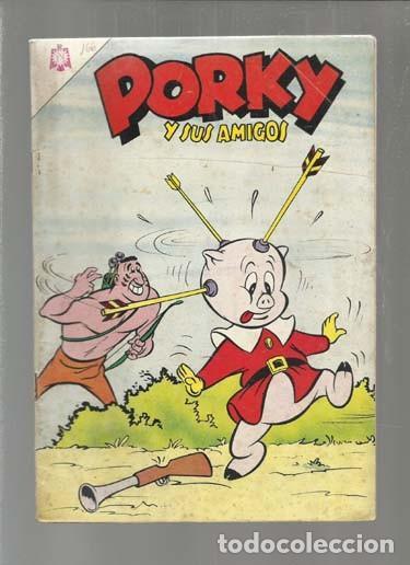 PORKY Y SUS AMIGOS 166, 1965, NOVARO. COLECCIÓN A.T. (Tebeos y Comics - Novaro - Porky)