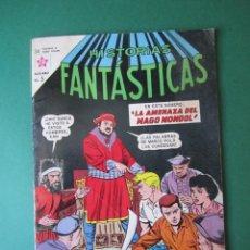 Tebeos: HISTORIAS FANTASTICAS (1958, ER / NOVARO) 88 · 1-X-1963 · HISTORIAS FANTÁSTICAS. Lote 169825172