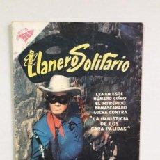 Tebeos: EL LLANERO SOLITARIO N° 67 - FOTO EN PORTADA - ORIGINAL EDITORIAL NOVARO. Lote 169827688