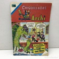 Tebeos: CHIQUILLADAS - NOVARO - EL PEQUEÑO ARCHI - Nº 480 - AÑO XXIV - 1976. Lote 169902852