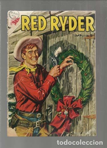 RED RYDER 14, 1955, ENCUADERNACIÓN. COLECCIÓN A.T. (Tebeos y Comics - Novaro - Red Ryder)