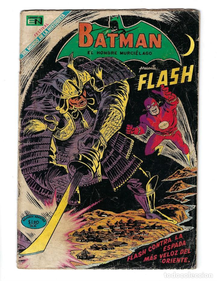 BATMAN - EL HOMBRE MURCIÉLAGO, AÑO XVII, Nº 493, 21 DE AGOSTO DE 1969 ***EDITORIAL NOVARO*** (Tebeos y Comics - Novaro - Batman)
