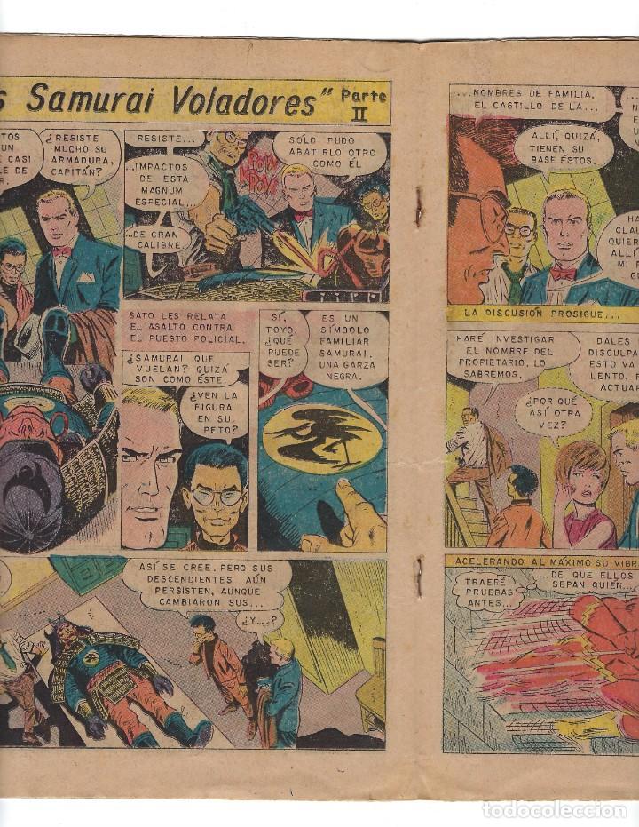 Tebeos: BATMAN - EL HOMBRE MURCIÉLAGO, AÑO XVII, Nº 493, 21 DE AGOSTO DE 1969 ***EDITORIAL NOVARO*** - Foto 4 - 170055988
