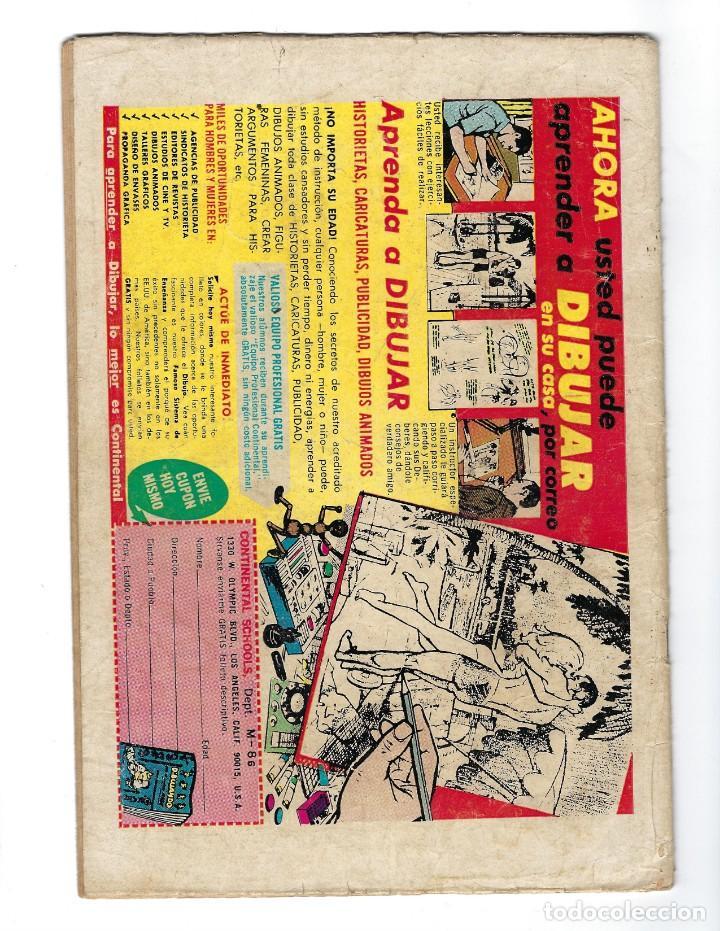 Tebeos: BATMAN - EL HOMBRE MURCIÉLAGO, AÑO XVII, Nº 493, 21 DE AGOSTO DE 1969 ***EDITORIAL NOVARO*** - Foto 2 - 170055988