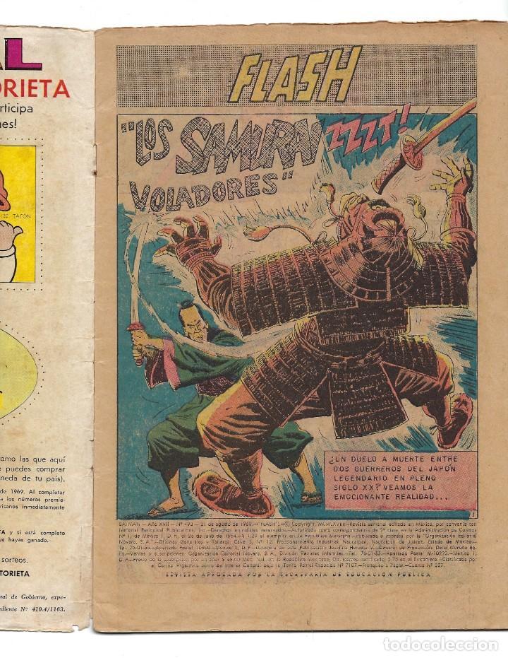 Tebeos: BATMAN - EL HOMBRE MURCIÉLAGO, AÑO XVII, Nº 493, 21 DE AGOSTO DE 1969 ***EDITORIAL NOVARO*** - Foto 5 - 170055988