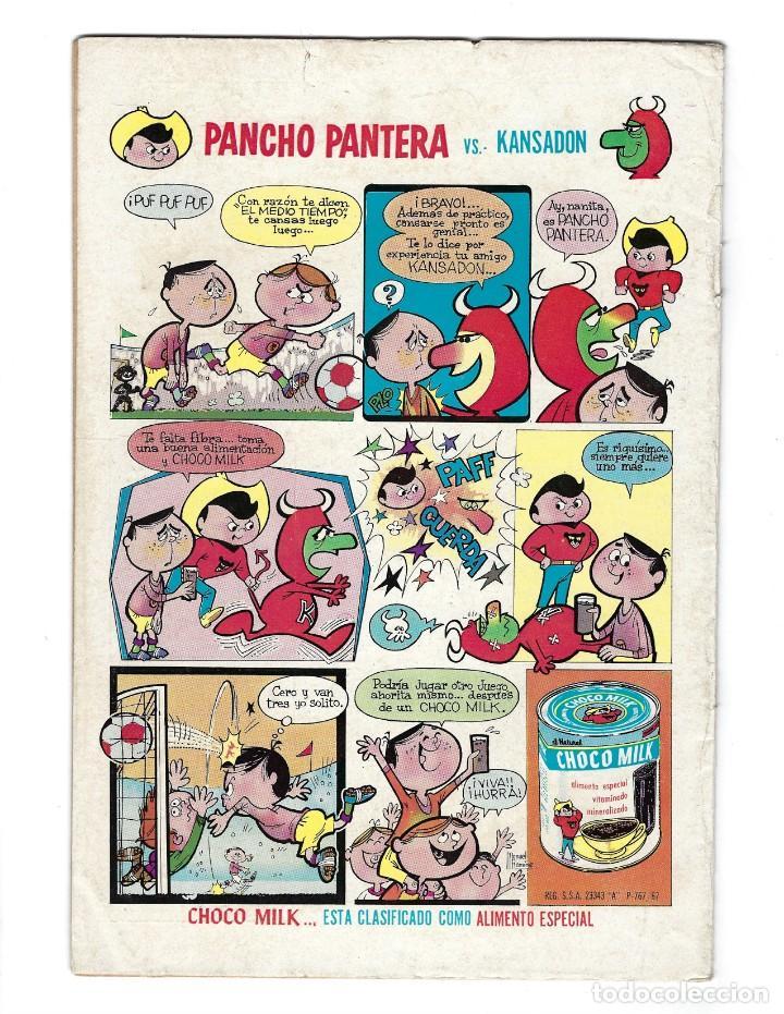 Tebeos: BATMAN - EL HOMBRE MURCIÉLAGO, AÑO XVII, Nº 482, 5 DE JUNIO DE 1969 ***EDITORIAL NOVARO*** - Foto 2 - 170056580