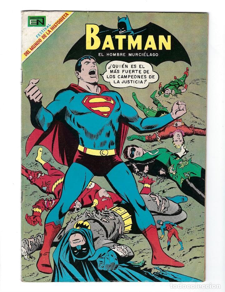 BATMAN - EL HOMBRE MURCIÉLAGO, AÑO XVII, Nº 482, 5 DE JUNIO DE 1969 ***EDITORIAL NOVARO*** (Tebeos y Comics - Novaro - Batman)