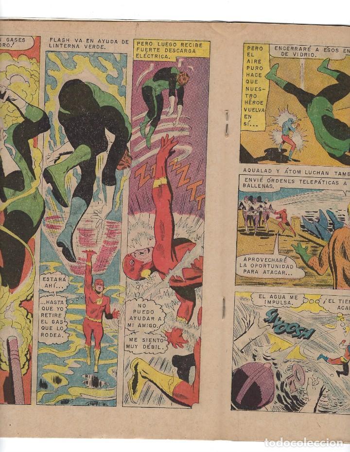 Tebeos: BATMAN - EL HOMBRE MURCIÉLAGO, AÑO XVII, Nº 482, 5 DE JUNIO DE 1969 ***EDITORIAL NOVARO*** - Foto 4 - 170056580