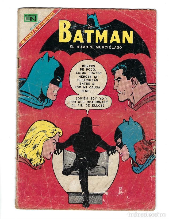 BATMAN - EL HOMBRE MURCIÉLAGO, AÑO XVI, Nº 466, 13 DE FEBRERO DE 1969 ***EDITORIAL NOVARO*** (Tebeos y Comics - Novaro - Batman)