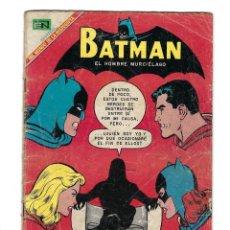 Tebeos: BATMAN - EL HOMBRE MURCIÉLAGO, AÑO XVI, Nº 466, 13 DE FEBRERO DE 1969 ***EDITORIAL NOVARO***. Lote 170057036