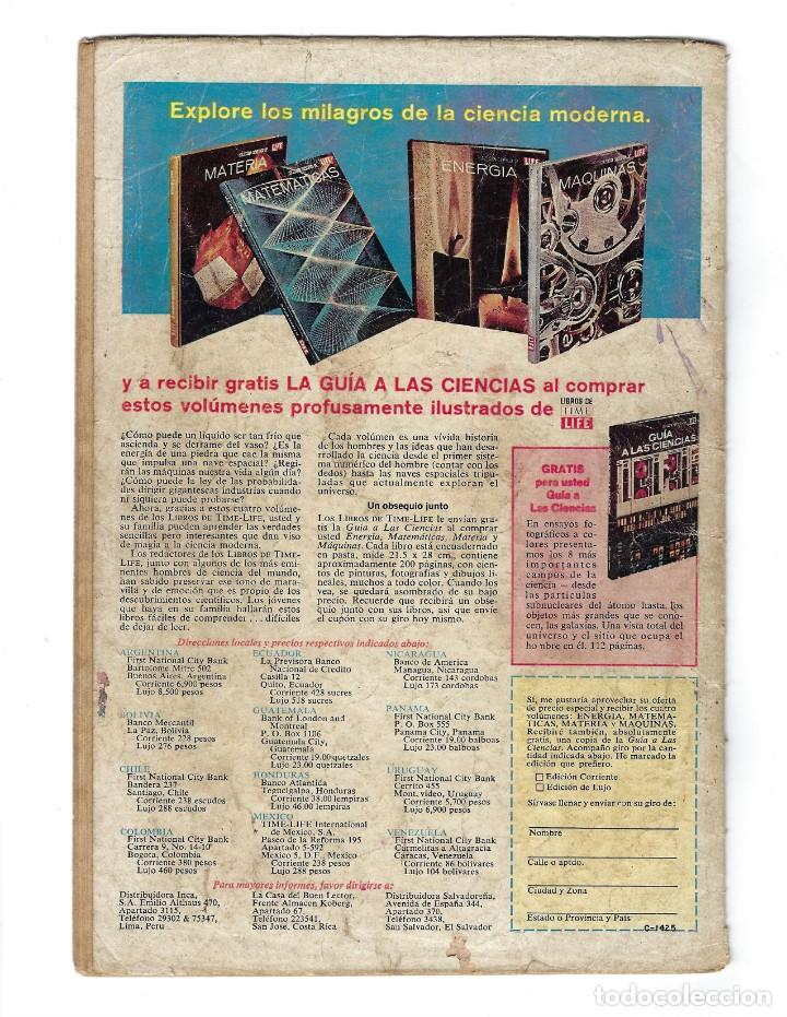 Tebeos: BATMAN - EL HOMBRE MURCIÉLAGO, AÑO XVI, Nº 466, 13 DE FEBRERO DE 1969 ***EDITORIAL NOVARO*** - Foto 2 - 170057036