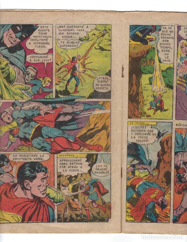Tebeos: BATMAN - EL HOMBRE MURCIÉLAGO, AÑO XVI, Nº 466, 13 DE FEBRERO DE 1969 ***EDITORIAL NOVARO*** - Foto 4 - 170057036