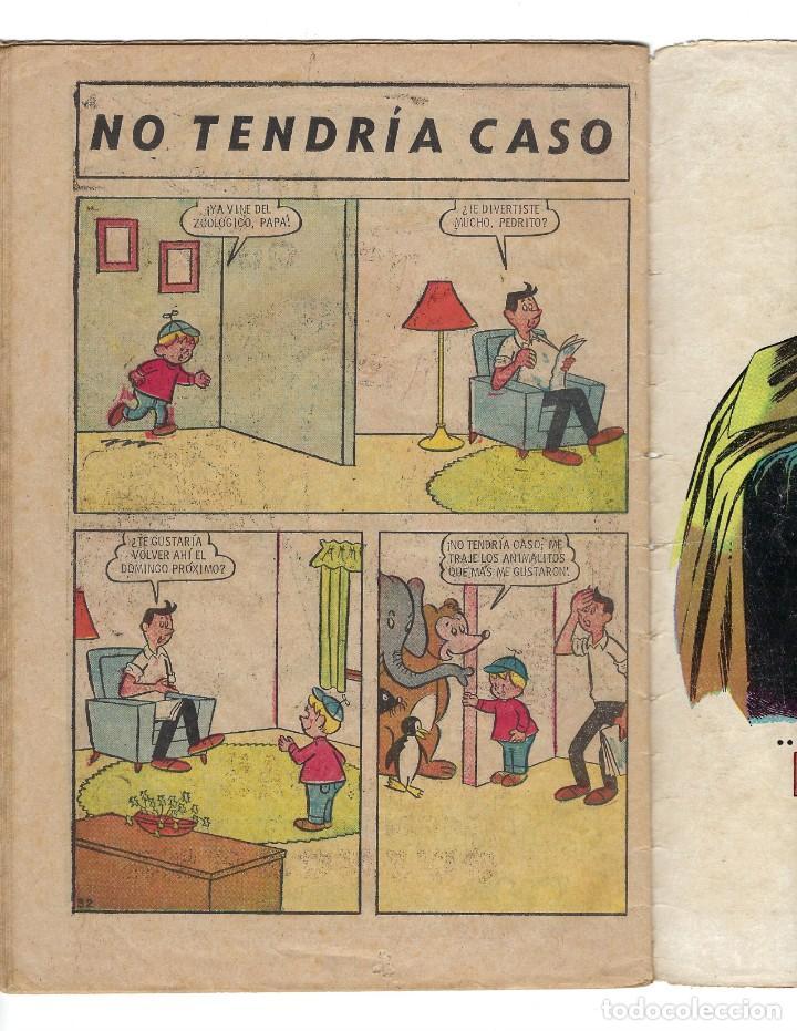 Tebeos: BATMAN - EL HOMBRE MURCIÉLAGO, AÑO XVI, Nº 466, 13 DE FEBRERO DE 1969 ***EDITORIAL NOVARO*** - Foto 7 - 170057036