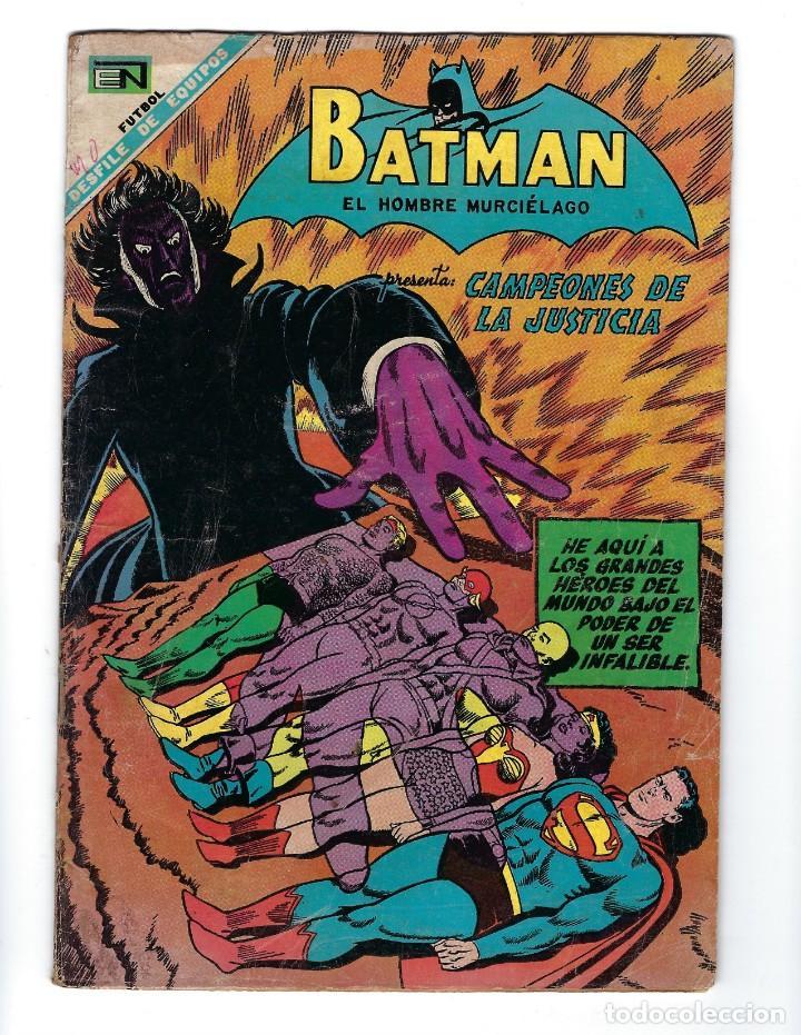 BATMAN - EL HOMBRE MURCIÉLAGO, AÑO XVI, Nº 448, 10 DE OCTUBRE DE 1968 ***EDITORIAL NOVARO*** (Tebeos y Comics - Novaro - Batman)