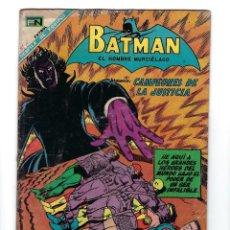 Tebeos: BATMAN - EL HOMBRE MURCIÉLAGO, AÑO XVI, Nº 448, 10 DE OCTUBRE DE 1968 ***EDITORIAL NOVARO***. Lote 170057616