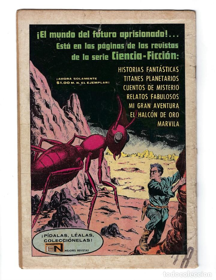 Tebeos: BATMAN - EL HOMBRE MURCIÉLAGO, AÑO XVI, Nº 448, 10 DE OCTUBRE DE 1968 ***EDITORIAL NOVARO*** - Foto 2 - 170057616