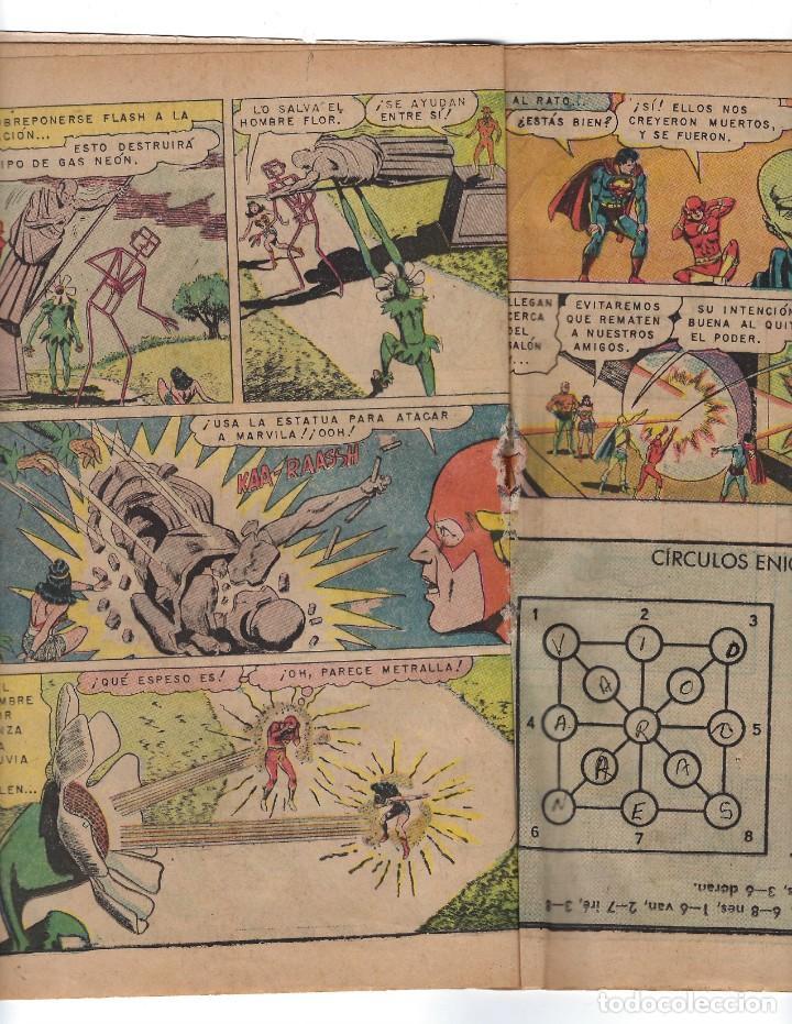 Tebeos: BATMAN - EL HOMBRE MURCIÉLAGO, AÑO XVI, Nº 448, 10 DE OCTUBRE DE 1968 ***EDITORIAL NOVARO*** - Foto 5 - 170057616