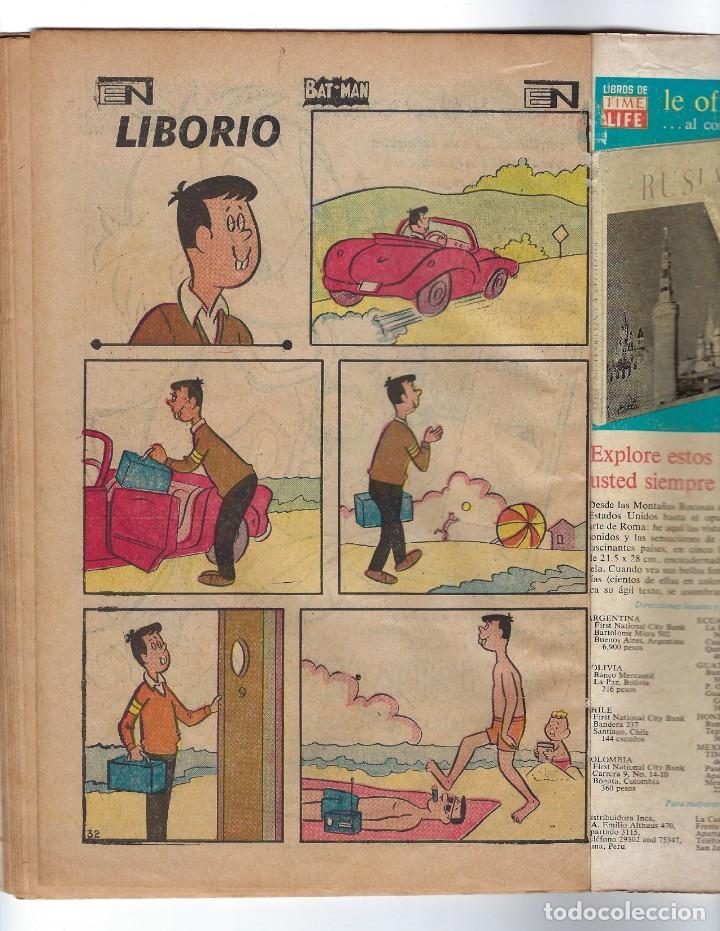 Tebeos: BATMAN - EL HOMBRE MURCIÉLAGO, AÑO XVI, Nº 448, 10 DE OCTUBRE DE 1968 ***EDITORIAL NOVARO*** - Foto 7 - 170057616