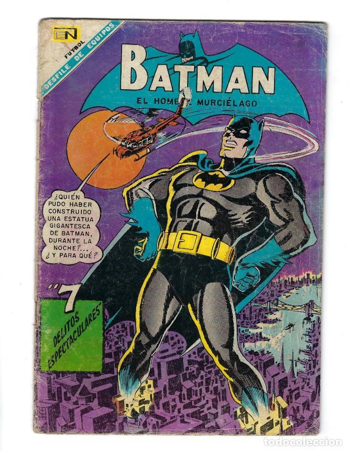 BATMAN - EL HOMBRE MURCIÉLAGO, AÑO XVI, Nº 434, 4 DE JULIO DE 1968 ***EDITORIAL NOVARO*** (Tebeos y Comics - Novaro - Batman)