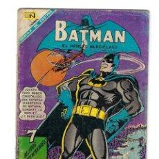 Tebeos: BATMAN - EL HOMBRE MURCIÉLAGO, AÑO XVI, Nº 434, 4 DE JULIO DE 1968 ***EDITORIAL NOVARO***. Lote 170058040