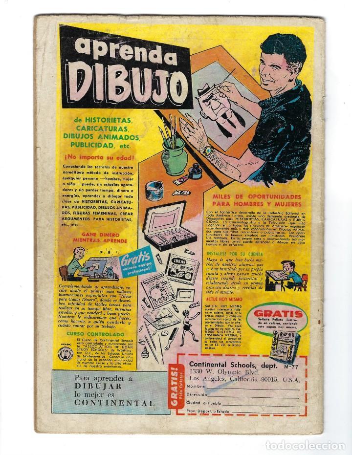 Tebeos: BATMAN - EL HOMBRE MURCIÉLAGO, AÑO XVI, Nº 434, 4 DE JULIO DE 1968 ***EDITORIAL NOVARO*** - Foto 2 - 170058040