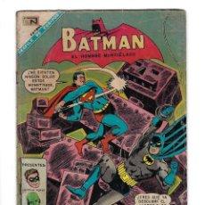 Tebeos: BATMAN - EL HOMBRE MURCIÉLAGO, AÑO XV, Nº 411, 25 DE ENERO DE 1968 ***EDITORIAL NOVARO***. Lote 170059800