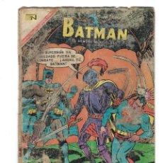 Tebeos: BATMAN - EL HOMBRE MURCIÉLAGO, AÑO XV, Nº 393, 21 DE SEPTIEMBRE DE 1967 ***EDITORIAL NOVARO***. Lote 170060428
