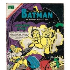 Tebeos: BATMAN - EL HOMBRE MURCIÉLAGO, AÑO XV, Nº 392, 14 DE SEPTIEMBRE DE 1967 ***EDITORIAL NOVARO***. Lote 170060912