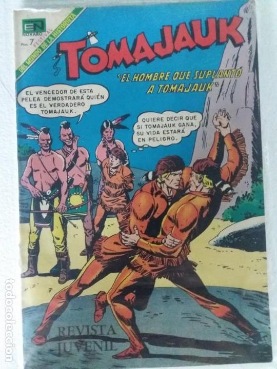 TOMAJAUK Nº 165 NOVARO IMPECABLE ESTADO (Tebeos y Comics - Novaro - Otros)