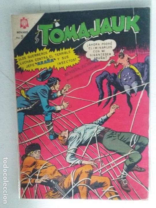 TOMAJAUK Nº 123 NOVARO IMPECABLE ESTADO (Tebeos y Comics - Novaro - Otros)