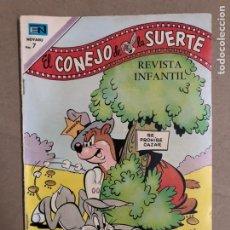 Tebeos: EL CONEJO DE LA SUERTE N° 332 ( NOVARO 1970). BUEN ESTADO.. Lote 170134212