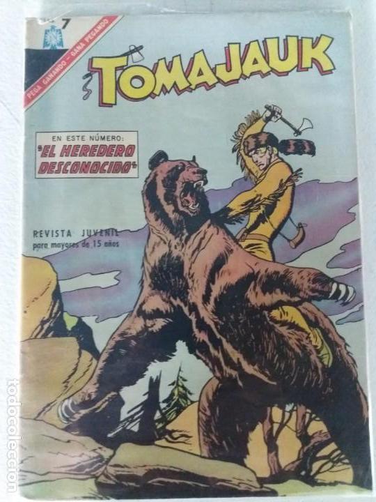 TOMAJAUK Nº 136 NOVARO IMPECABLE ESTADO (Tebeos y Comics - Novaro - Otros)