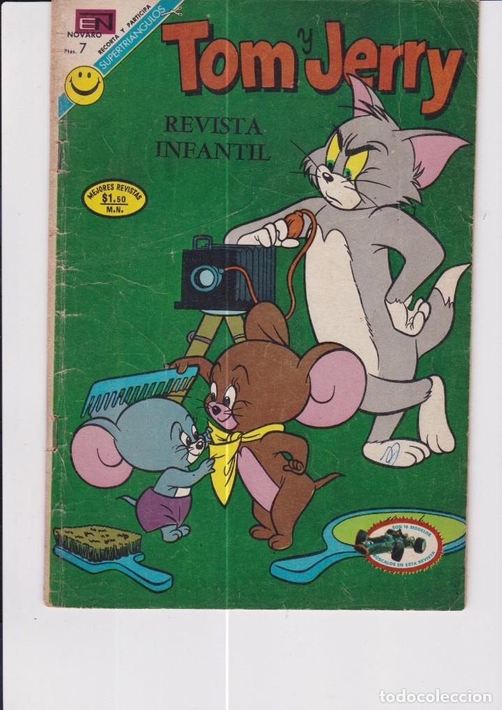 TOM Y JERRY NÚMERO 348. (Tebeos y Comics - Novaro - Tom y Jerry)